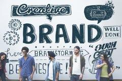 品牌烙记的版权商标营销概念 免版税图库摄影