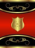 品牌蝴蝶红色皇家 免版税库存图片