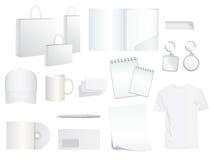 品牌设计样式模板 免版税库存照片