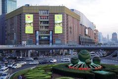 品牌购物中心超级的上海 库存图片