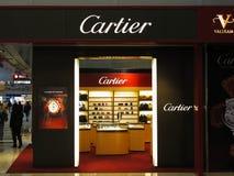 品牌cartier豪华 免版税库存照片
