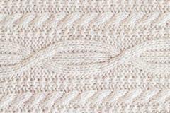 织品由羊毛制成 库存图片