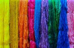 织品的丝绸 库存图片