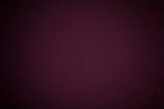 织品纹理黑暗的紫罗兰色背景 免版税库存图片