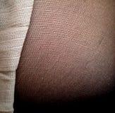 织品纹理-长袜和裙子 库存照片