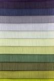 织品纺织品颜色样片  免版税图库摄影