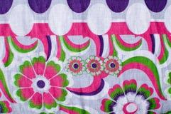 织品花卉模式 库存照片