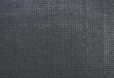 黑织品袋子纹理 免版税库存照片