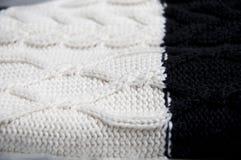 织品被编织的羊毛 库存图片
