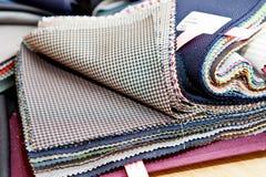 织品颜色样品 免版税库存图片
