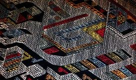 织品,从老挝 库存图片