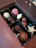 哇!爱巧克力 免版税库存照片