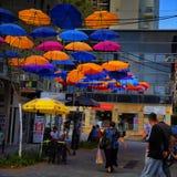 哈代拉街道以色列 库存图片