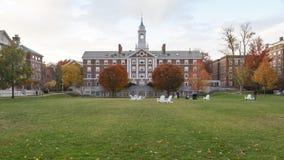 哈佛停泊霍尔 免版税图库摄影