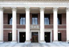 哈佛图书馆大学 免版税库存照片