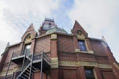 哈佛大学历史沙磨机剧院  库存图片