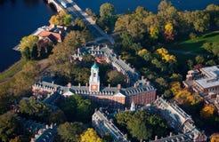 哈佛校园区 免版税图库摄影