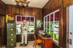 哈兰沙磨机Café和博物馆 免版税库存照片