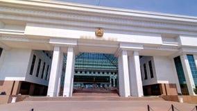哈共timelapse hyperlapse的最高法院 阿斯塔纳卡扎克斯坦 影视素材