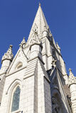 哈利法克斯大教堂尖顶 库存图片