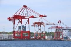 哈利法克斯港口 免版税图库摄影