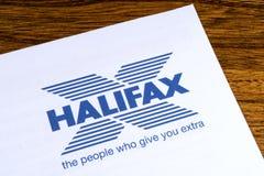 哈利法克斯银行商标 免版税库存图片