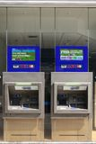 哈利法克斯银行ATM 免版税库存照片