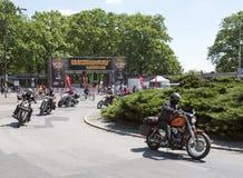 哈利戴维森摩托车事件 免版税图库摄影