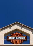 哈利戴维森摩托车标志 库存照片