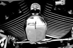 哈利戴维森Electra滑翔 免版税库存图片