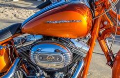 哈利戴维森HD 110摩托车 库存照片