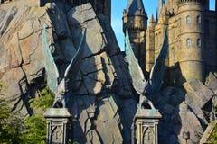 哈利・波特Wizarding世界在环球电影制片厂,大阪 免版税库存图片
