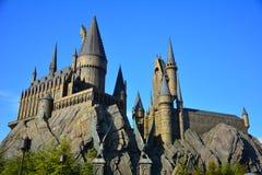 哈利・波特Wizarding世界在环球电影制片厂,大阪 免版税库存照片