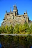 哈利・波特Wizarding世界在环球电影制片厂,大阪 库存照片