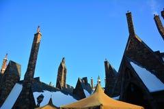 哈利・波特Wizarding世界在环球电影制片厂,大阪 库存图片