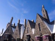 哈利・波特Wizarding世界环球电影制片厂日本联合国的 库存照片