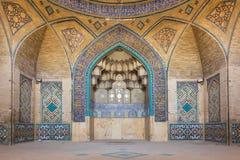 哈基姆清真寺(Masjed e哈基姆)在伊斯法罕,伊朗 库存图片