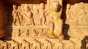 哈奴曼寺庙雕塑 免版税库存图片