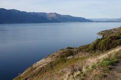 哈威亚湖监视,新西兰 库存照片