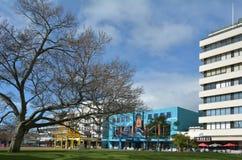 哈密尔顿哈密尔顿庭院地方新西兰 免版税库存照片