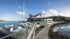 哈密尔顿岛游艇俱乐部 库存图片