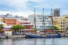 哈密尔顿百慕大海口 库存照片