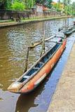 哈密尔顿运河, Negombo斯里兰卡 免版税库存照片