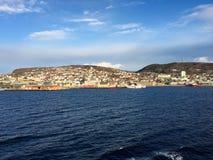 哈尔斯塔,挪威 免版税库存图片