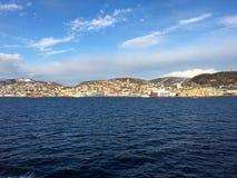 哈尔斯塔,挪威 库存图片