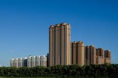 哈尔滨的新的公寓 库存照片