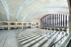 哈尔滨西方火车站 免版税库存照片