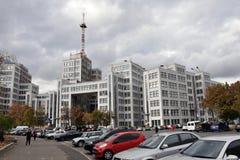 哈尔科夫,乌克兰,修造的Gosprom 免版税库存图片