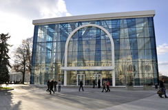哈尔科夫,乌克兰,历史博物馆的大厦 库存照片