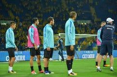 哈尔科夫,乌克兰- 2017年9月02日:土耳其足球运动员t 库存照片